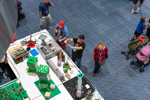Bird's eye view: Comic Con Denver | by Kanemojo