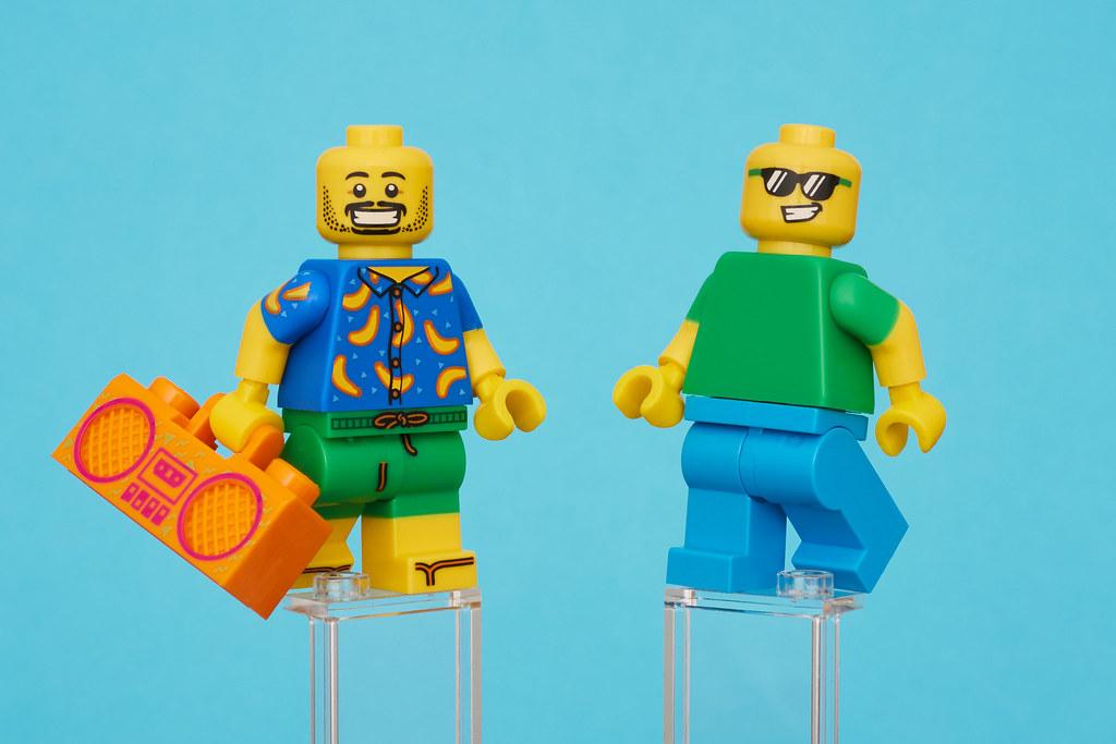 no box Lego Banana Suit Guy Party Banana Juice Bar 5005250