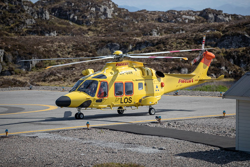 LN-OXH at Fedje Heliport, Norway (ENFJ) | by ChristerPix
