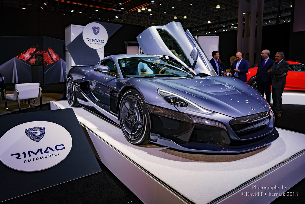 Rimac Concept Two AllElectric Hypercar Sec Flickr - Car show 2018 nyc