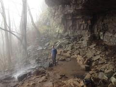 Billy at Keown Falls