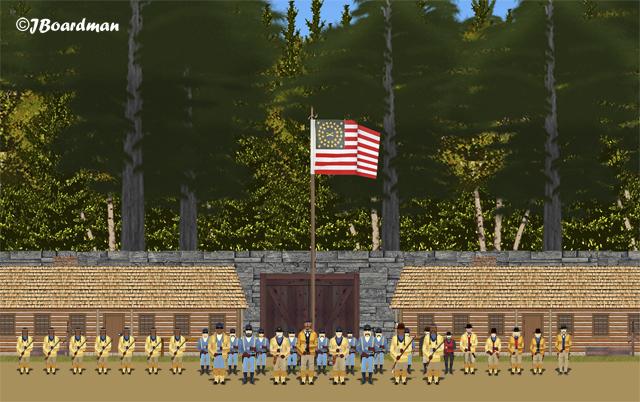 Meeting at Fort Wabanquot ©JBoardman