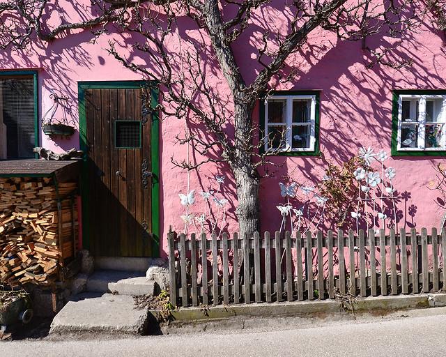 Una de las casitas de Hallstatt