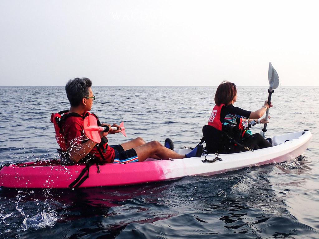 小琉球必玩行程獨木舟