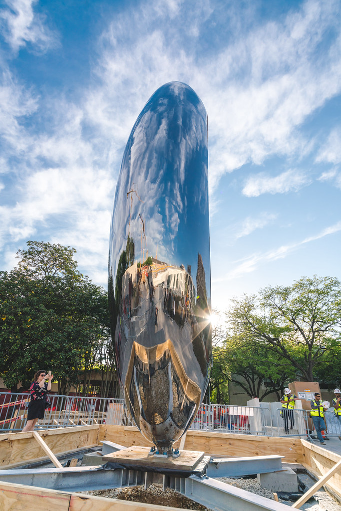 Anish Kapoor S Cloud Column In Houston 2018 014 Info