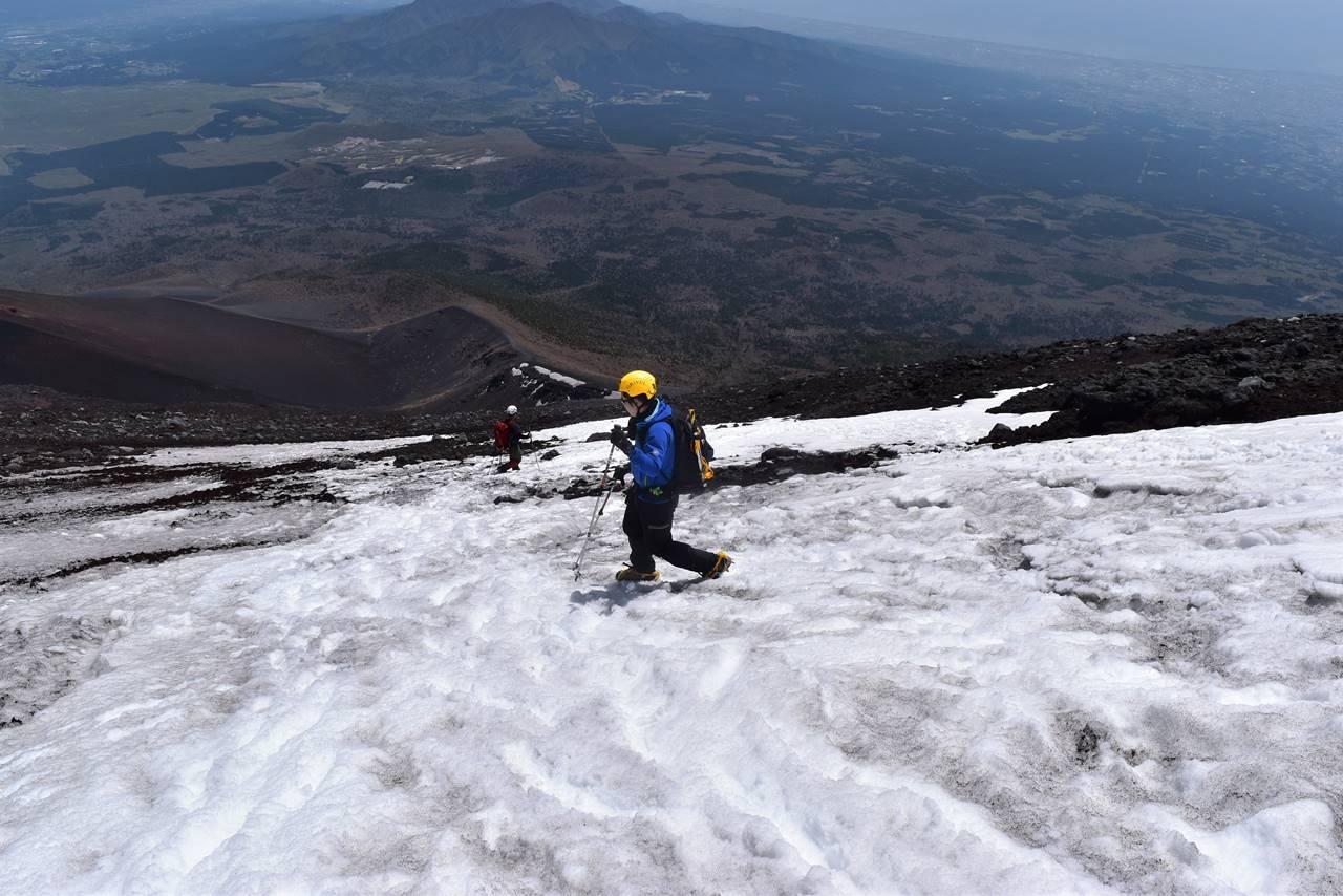富士山下山