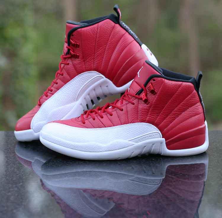 e185f67372ff54 ... wholesale air jordan 12 retro gym red white black 130690 600 mens size  10.5 by 2f58f