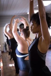 Dance students