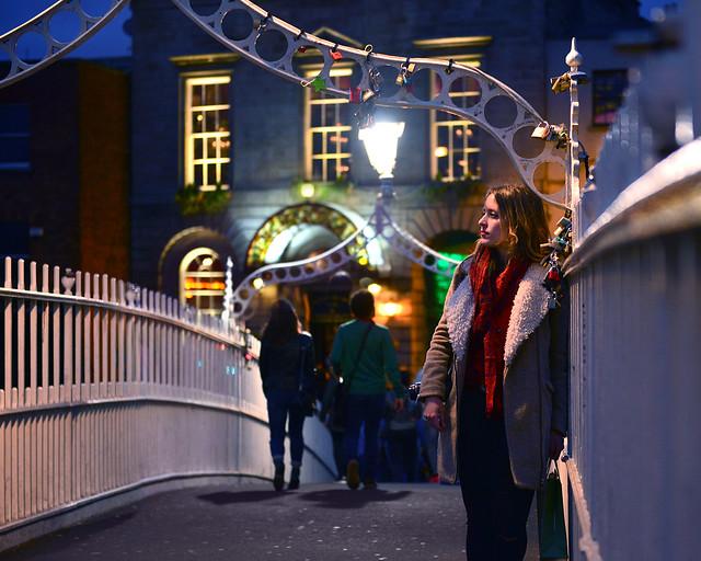 Millenium Bridge de los puentes más bonitos de Dublín