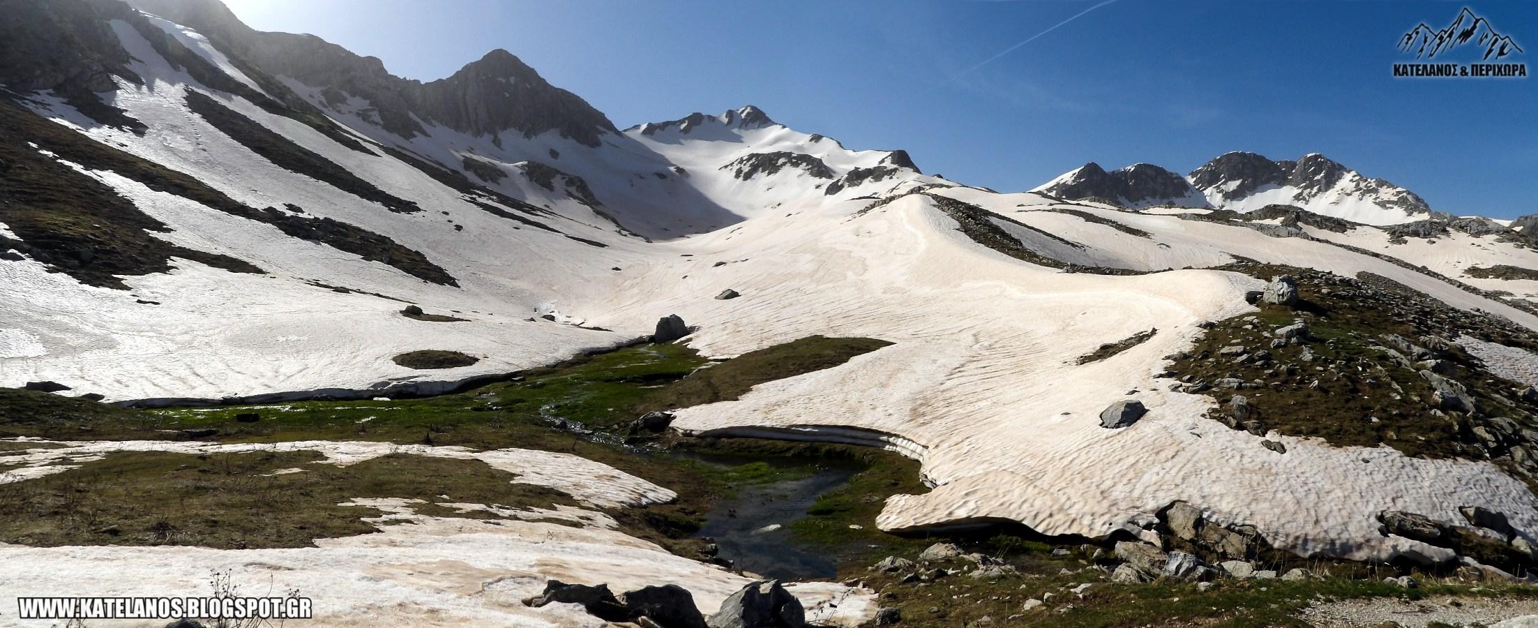 χιονουρες βουνο χατζη τρικαλων