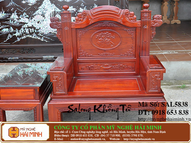 SAL5838h Salong Khong Minh do go my nghe hai minh