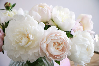 Royal Wedding Cake | fresh Peonies for Cake Decoration | by letizia.lorenzetti