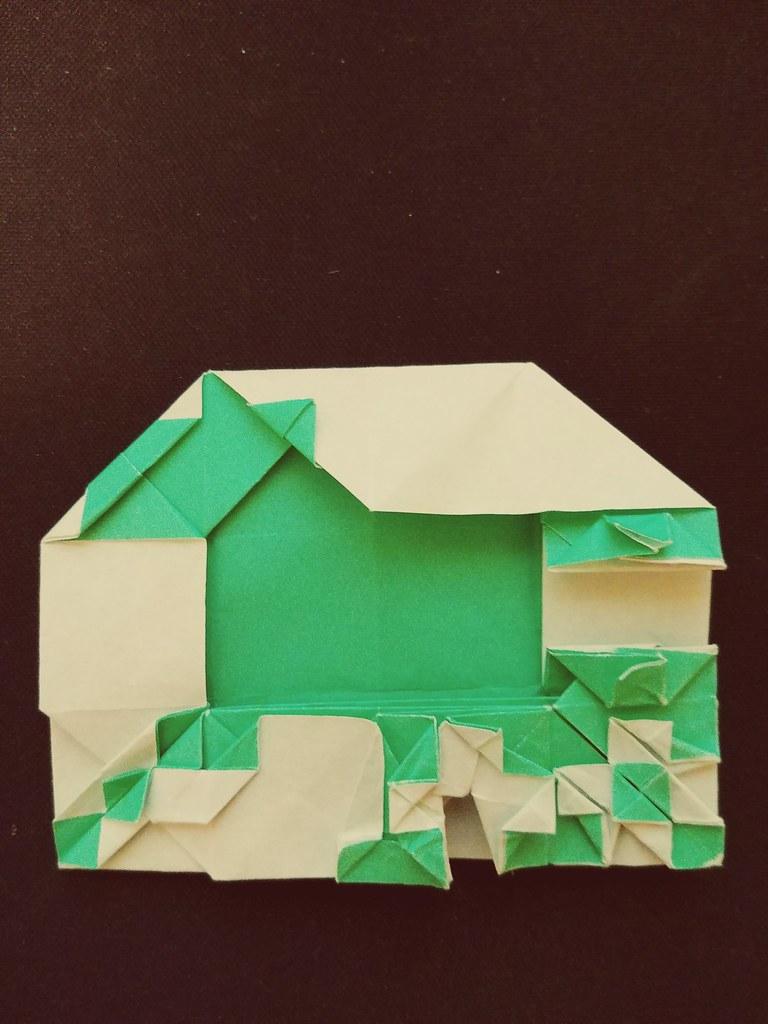 Origami Dice Folding Wip Sasha Craftspace Flickr