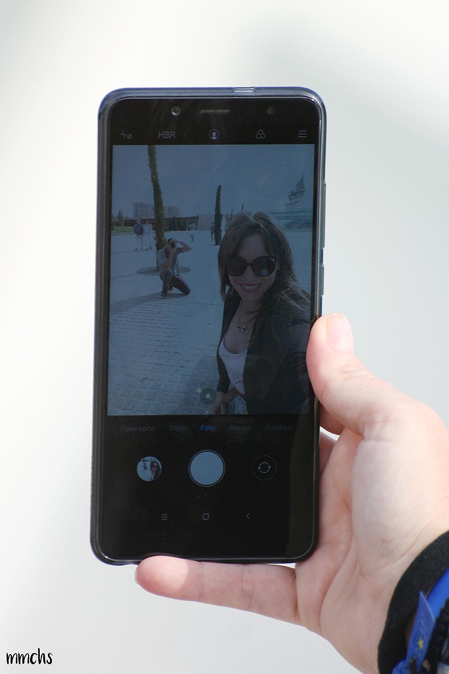 cámara delantera Xiaomi Redmi Note 5