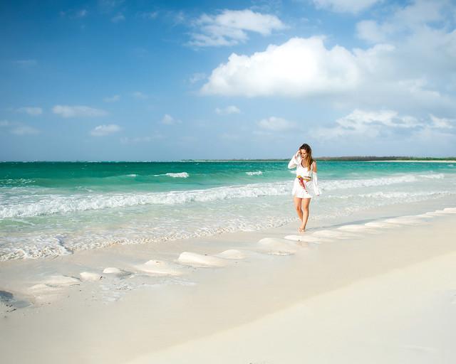 La preciosa playa Megano, en el Cayo Santa Maria
