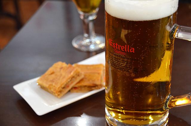 Beer and tapa, Galicia