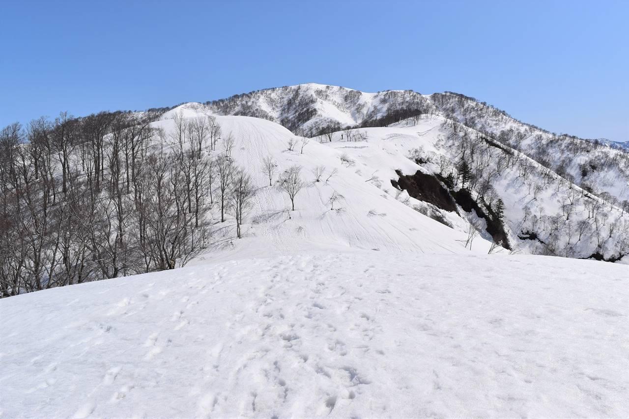 残雪の日向倉山 日帰り登山