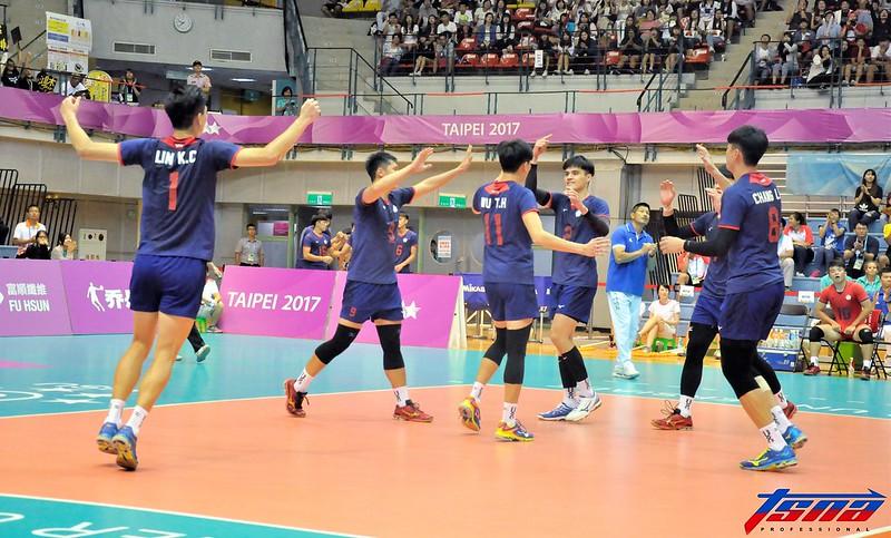 台灣男排雅加達亞運目標突破上屆成績。(張哲郢/攝)