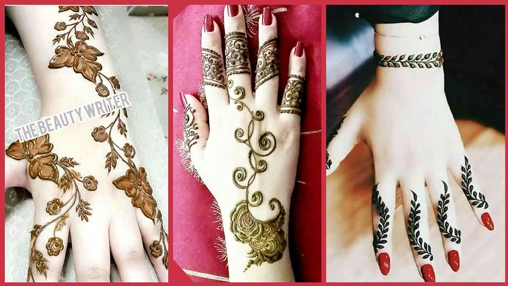 New Stylish Easy Mehndi Henna Designs For Beginners Bea Flickr