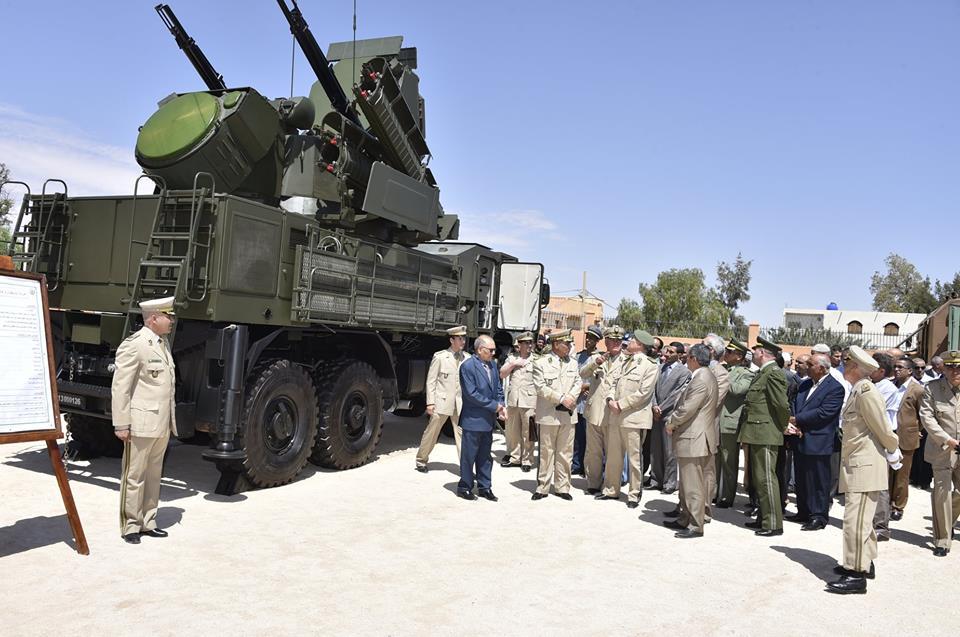 القوات البرية الجزائرية [ Pantsyr-S1 / SA-22 Greyhound ]   42240090674_85a08fb331_o