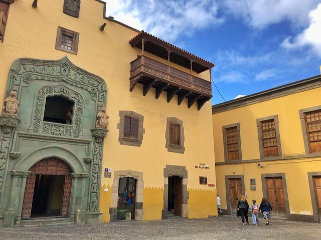 Casa Museo de Colón en Las Palmas de Gran Canaria