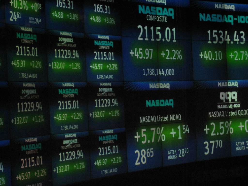 After Hours Stock Chart: NASDAQ - Times Square | Luis Villa del Campo | Flickr,Chart