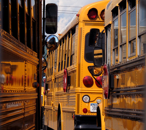 School Bus Yard | by Vipal