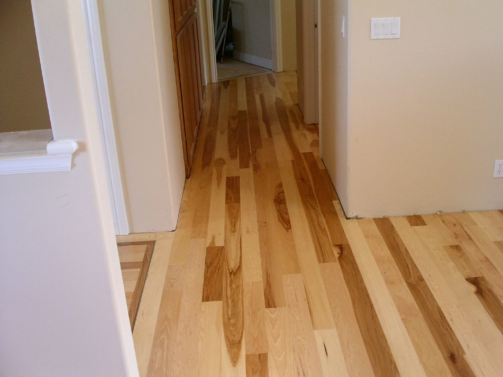 Hickory hardwood floor glue down site finished hickory for Hardwood floors hickory
