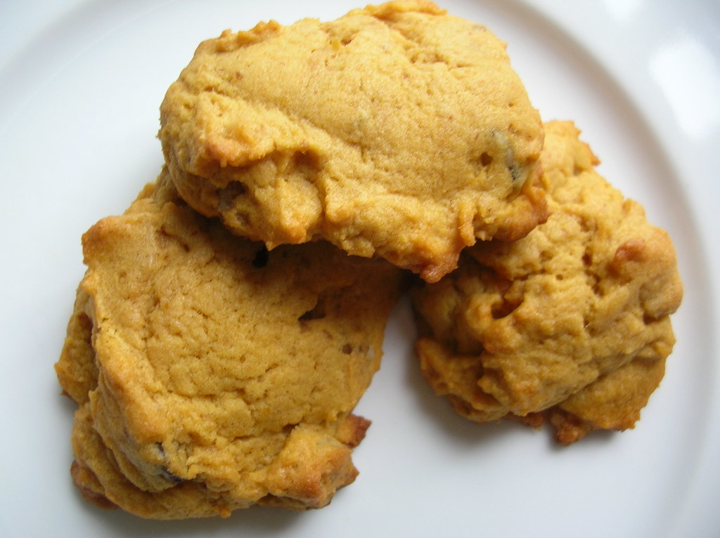 Pumpkin Chocolate Cookies With Spice Cake Mix