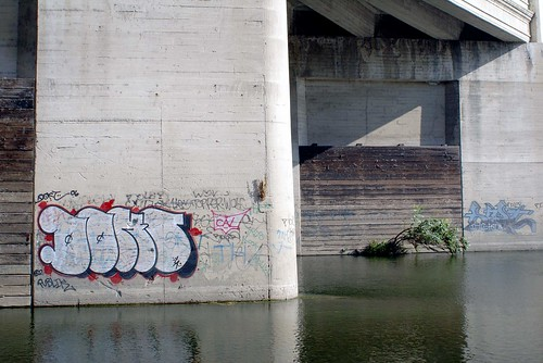 Graffiti by the River | by See El Photo