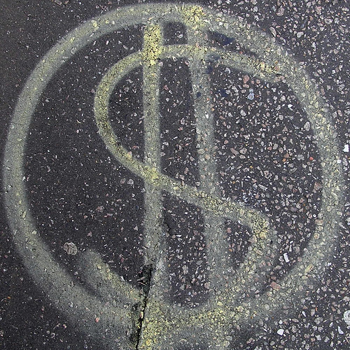 dollar sign $ | by Leo Reynolds