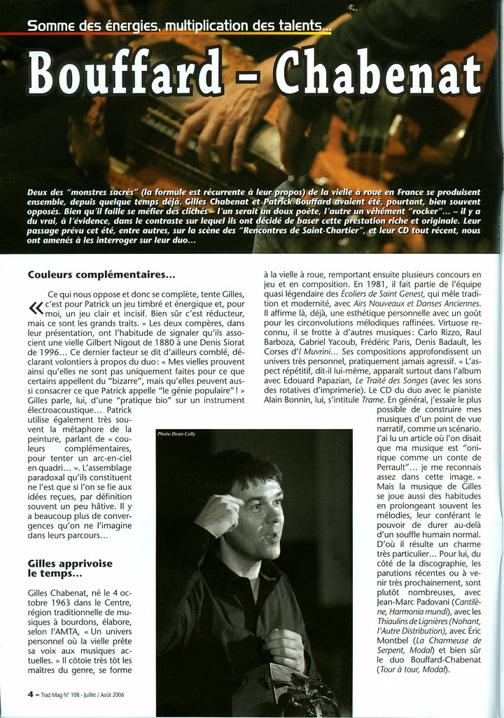 Magazine Article Layout page 1 | Both photos by yours ...