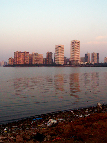 Cuffe parade you can just about see the sunset hues on for Jolly maker apartments cuffe parade