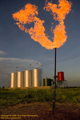IoB-Burning Off Natural Gas | by TRPhoto