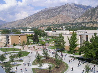 BYU Campus From Above - Utah | by Spaz Du Zoo