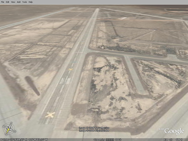 Area51-16 | Taken with Google Earth  Now, all I need is grou… | Flickr