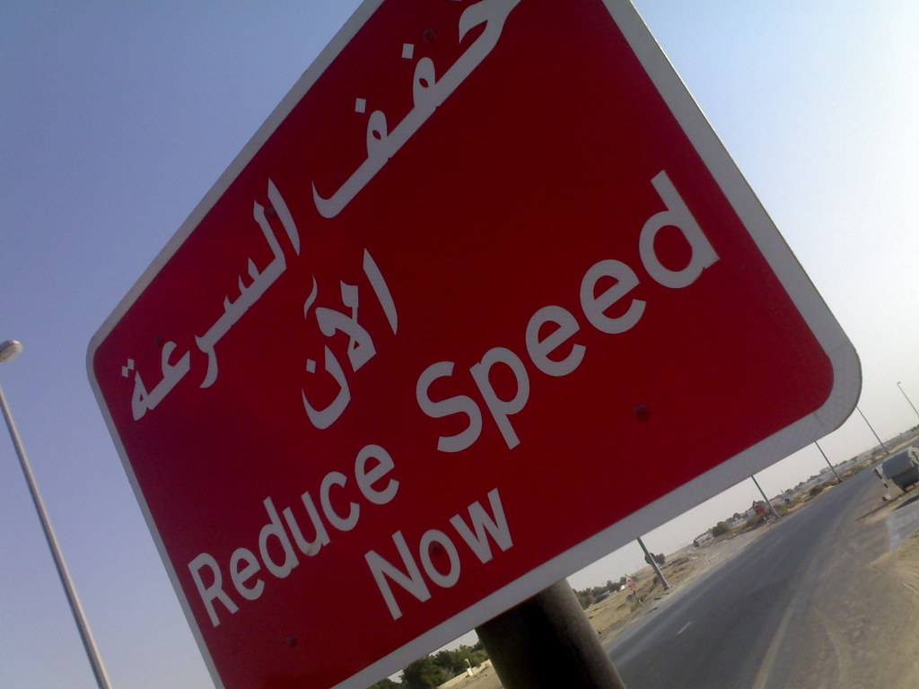 how to make people reduce speed