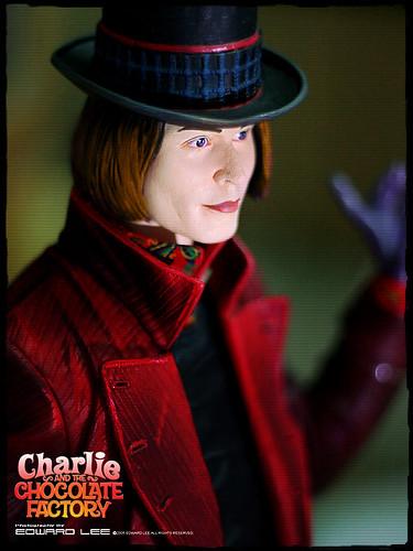 Willy Wonka (Johnny Depp) | 〈NECA 〉Charlie and the ... Willy Wonka Johnny Depp