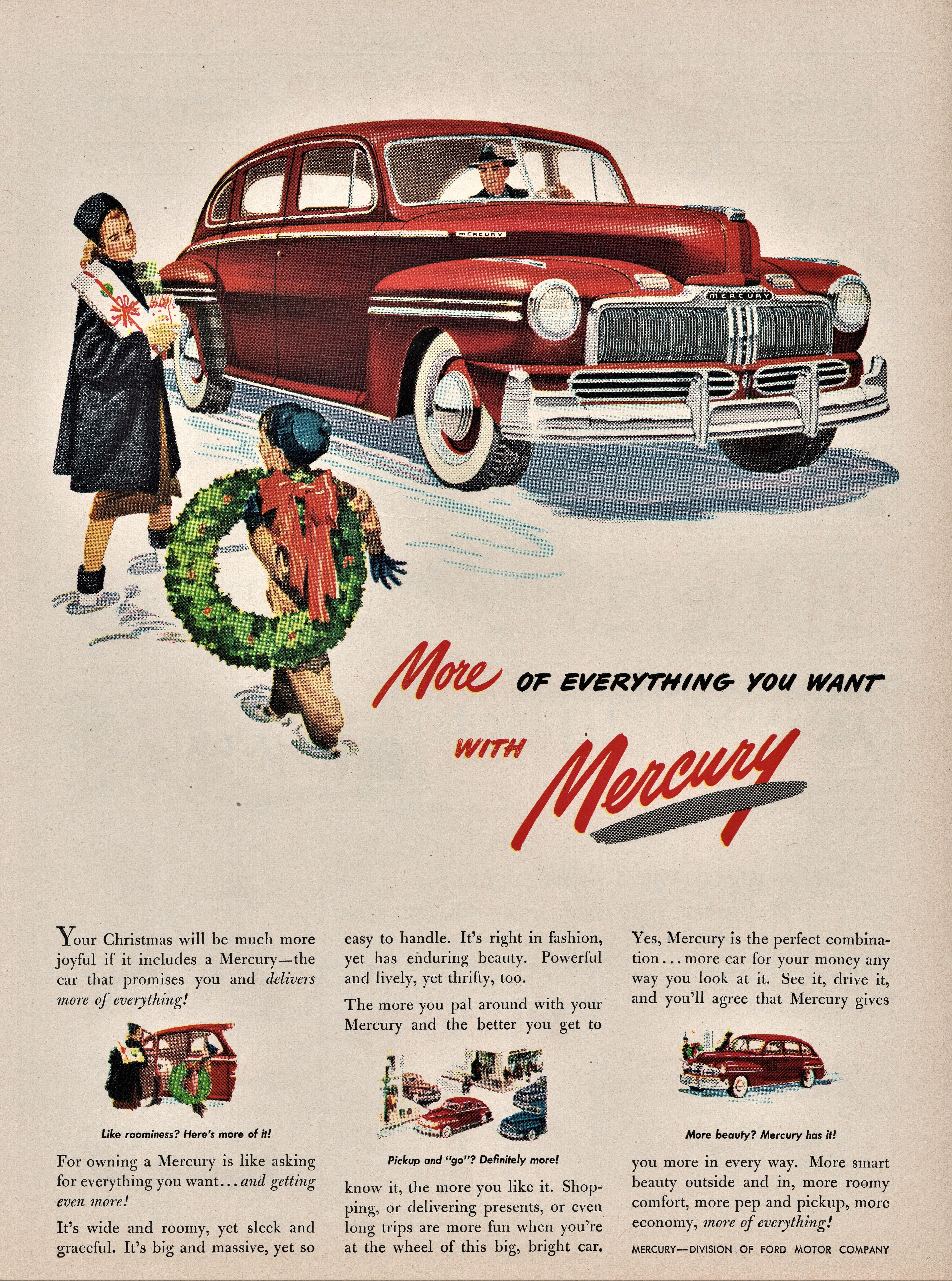 1947 Mercury Town Sedan