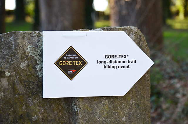 GORE-TEX sign, Camino de Santiago,Spain
