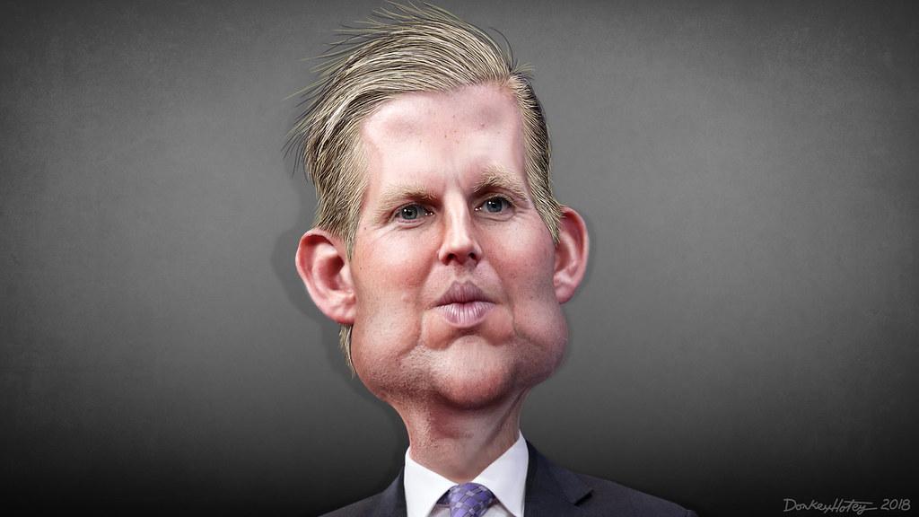 Eric Trump - Caricature | Eric Frederick Trump, aka Eric ...
