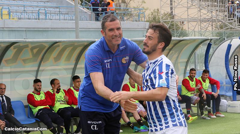 Lucarelli ritrova Sanseverino che allenava la scorsa stagione a Messina