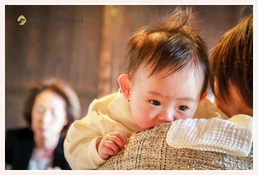 櫓心祜(ろここ)でお食い初め・お食事会(お宮参り・100日祝い)の出張撮影 名古屋市天白区 女性プロカメラマンによるロケーションフォト