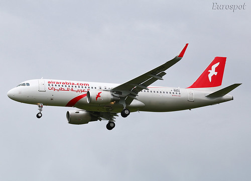 F-WWDO Airbus A320 Air Arabia | by @Eurospot