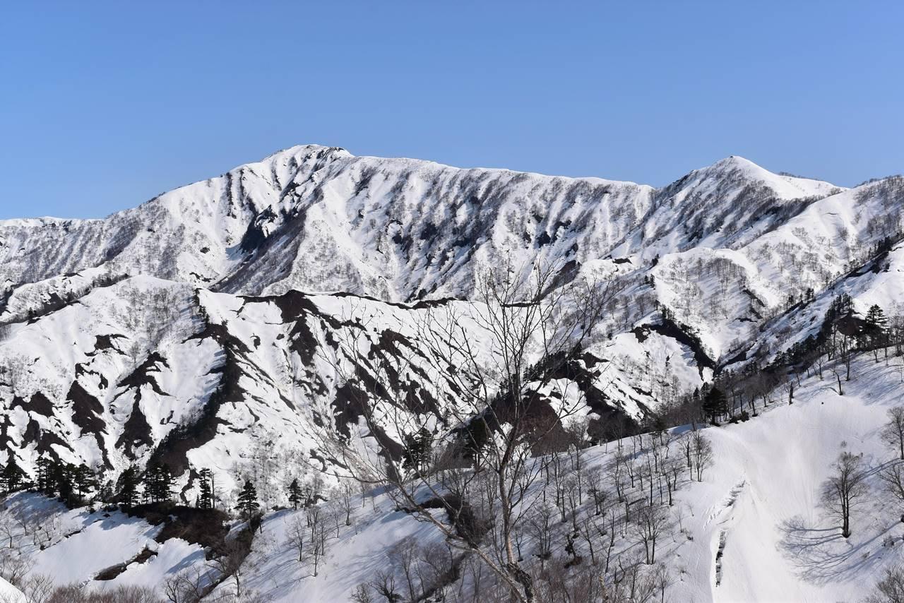 残雪の未丈ヶ岳