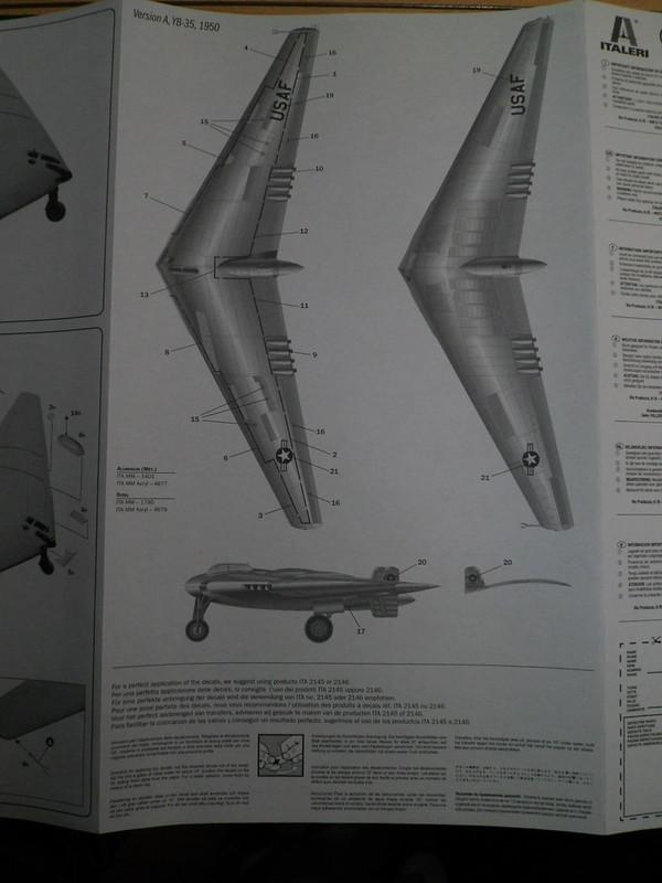 Ouvre-boîte Northrop YB-49 [Italeri 1/72] 27228920468_b9fef3a04b_c