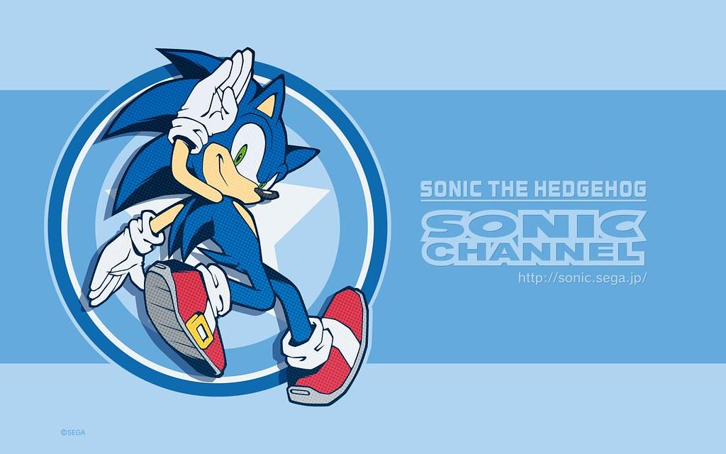 Sonic Channel Wallpaper June 2018 Flipped Version Sonictrainer