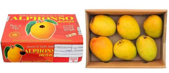 Alphonso mango's van Ekirana.nl