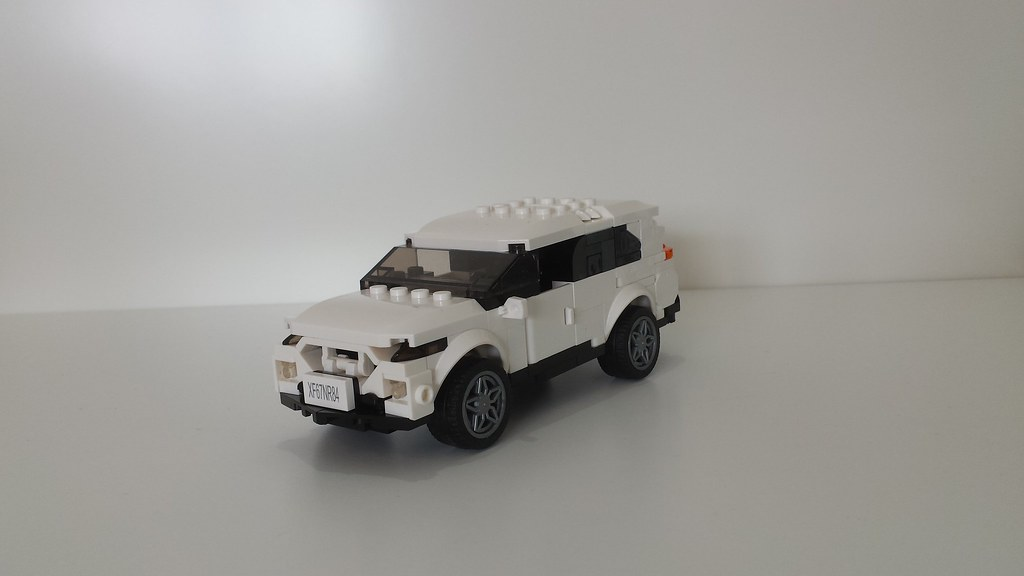 Ford Edge Suv Moc Lego Vehicles  Wide Minifig Scale