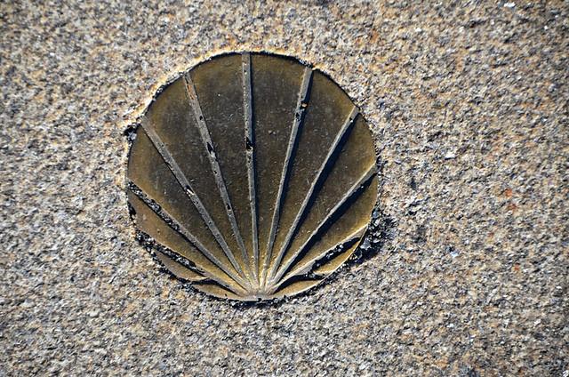 The shell, Santiago de Compostela, Galicia